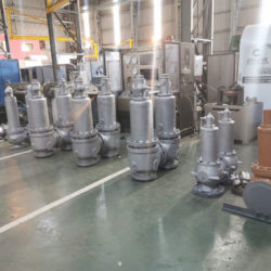 Enserve factory floor test unit for Control valves & Manual and Isolation valves